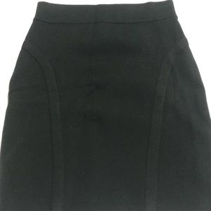 Bebe Black Mini Skirt